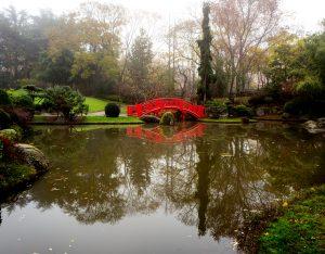 Red Bridge, Japanese Garden, Toulouse